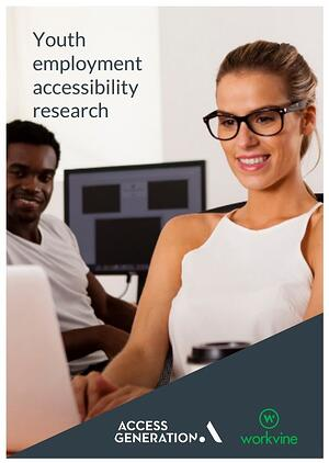 youth employment accessibility research